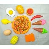 HOGNSIGN Food Toy Children' s Toys Pizza Eggs ice Cream Chicken Pepper Kindergarten Teaching