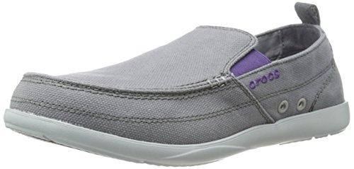 Crocs 11270_Walu Mocassini da Uomo Marrone (Charcoal/Light Grey)