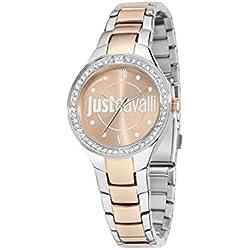 Just Cavalli Damen-Armbanduhr JUST SHADE Analog Quarz Edelstahl R7253201502
