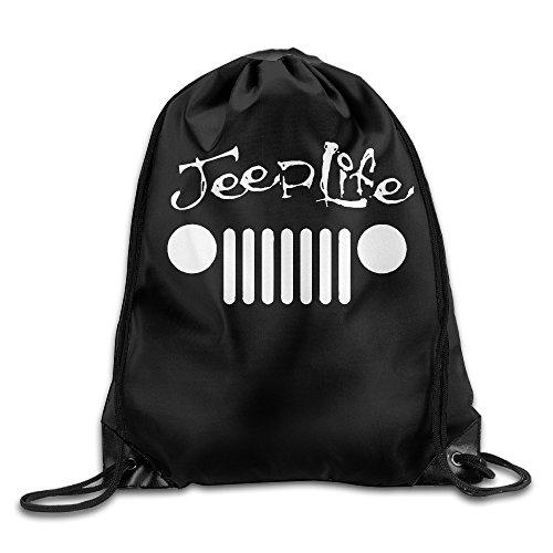canace-jeep-wave-effet-grill-wrangler-club-sports-dexterieur-avec-cordon-sacs-sac-a-dos-blanc-taille