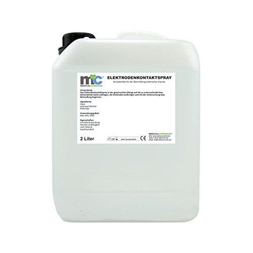 Elektroden-Kontaktspray für EKG, EEG, EMG, 2 Liter Kanister ohne Leer-Flaschen, höchste Leitfähigkeit Elektroden Kontakt Spray