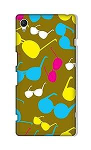 ZAPCASE Printed Back Cover for Sony Xperia Z1