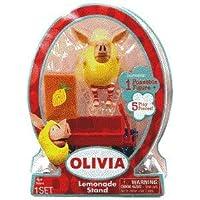 Olivia 3 Inch Mini Figure Lemonade Stand Olivia doll playset