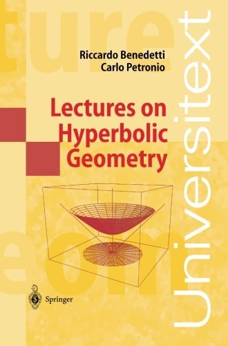 Lectures on Hyperbolic Geometry (Universitext) by Riccardo Benedetti (2013-10-04)