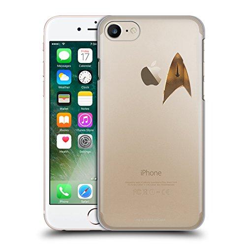 Offizielle Star Trek Discovery Uniform Badge Logo Ruckseite Hülle für Apple iPhone 7 / iPhone 8 (Uniform Offizielle)