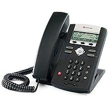 Polycom SoundPoint ip335Entry Level SIP Telefon-Schwarz (Zertifiziert und Generalüberholt)