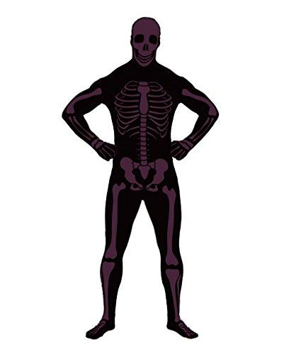 Skelett Ganzkörper-Anzug L (Ganzkörper Anzüge Elasthan)