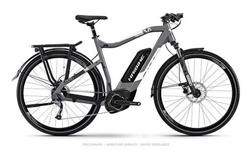 Haibike Sduro Trekking 3.0 Pedelec E-Bike Fahrrad grau/weiß 2019: Größe: XXL