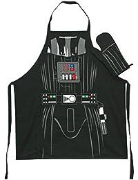 SD Toys SDTSDT89443–Tablier et manique, couleur noire