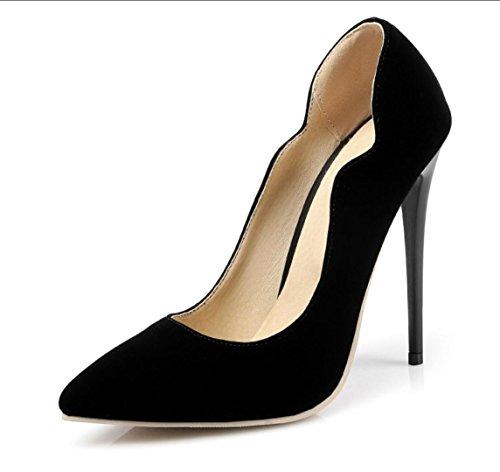 Unisex / Da donna / Da uomo / Per bambina-Tacchi-Matrimonio / Ufficio e lavoro / Formale / Casual / Serata e festa-Tacchi-A stiletto- Black