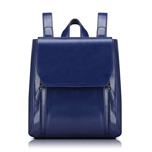 sfpong, Borsa a zainetto donna Brown-04 large Blue-02