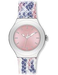 Swatch Damen-Armbanduhr Coloric Scales YNS117