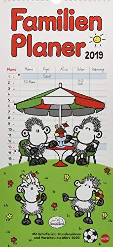 sheepworld Familienplaner - Kalender 2019
