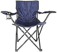 Camptrek In-House Foldable Beach And Garden Chair, BCI-3708, Dark Blue