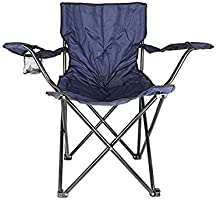 Camptrek In-House Foldable Beach And Garden Chair, BCI-3708, Dark Blue