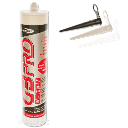 1-x-crystal-clear-gb-pro-builders-silicone-adhesive-sealant-super-strong-glass-wood-upvc-steel-silic