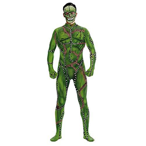 Familie Ideen Für Kostüm Nette - SHANGLY Halloween Unheimlicher Zombie Kostüme Bodysuit Für Frauen Cosplay Jumpsuit Elastisch Catsuits,XL