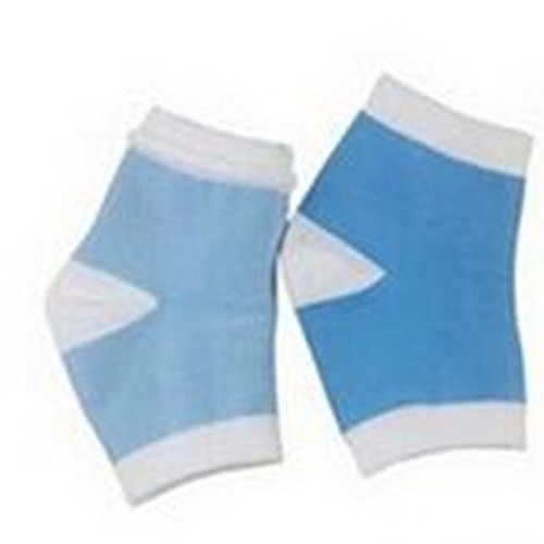 Wiftly Gel weiche Gel Socken Einlegesohlen Fersenkissen Fersenpolster entlasten Fersenschmerzen
