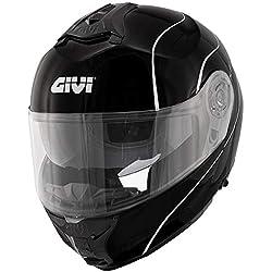 GIVI casco Modular hx21Challenger Negro–hx21fn902 M Negro
