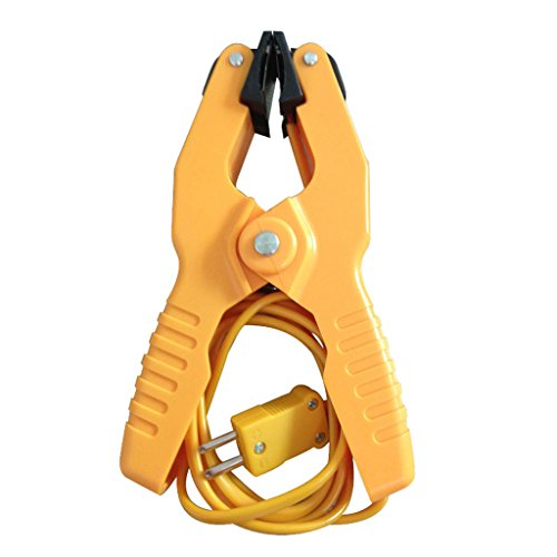 IPOTCH Type K Pipe Clamp Temperature Clamp Handheld Thermoelement-Sensor 40~200C/393F -