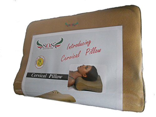 SOS Soft Cervical Pillow  available at amazon for Rs.585