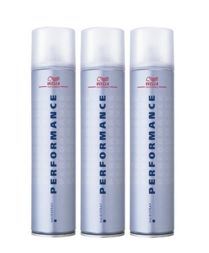 Wella Performance Haarspray 3 x 300 ml Styling Hairspray Professionals