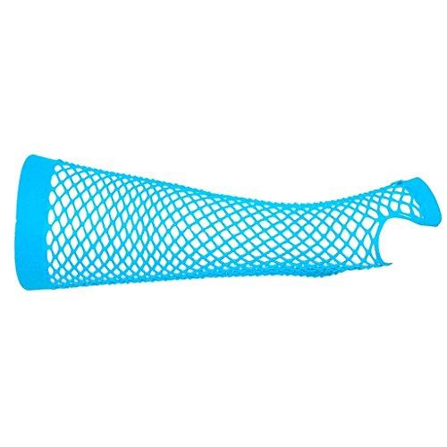 adam & eesa 1 bis 6 Paare Fingerlose Lange Fischnetz Handschuhe für Erwachsene und Kinder in viele Farben!