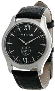 Titan Classique Analog Black Dial Men's Watch - 1616SL01