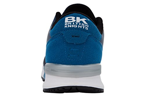 British Knights Impact, Baskets Basses femme Bleu/essence