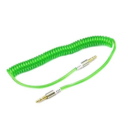 3,5 mm Aux Kabel Handy Audio Kabel Stecker auf Stecker Frühling Kabel für Auto kompatibel für Sumsung für iPhone 5 6 6 s