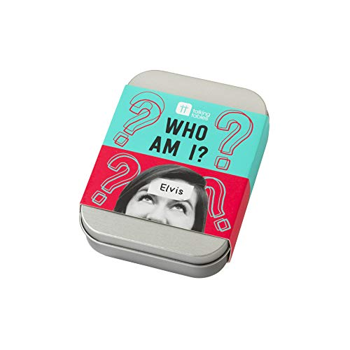 Talking Tables Stocking Filler Tin Who Am I Game