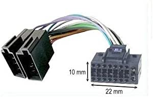 Jvc Autoradio Iso Stecker 16 Pin 10 X 22 Mm Auto