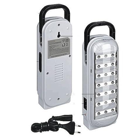 BALADEUSE *DP LED-713* ECLAIRAGE RAMPE APPLIQUE LAMPE RECHARGEABLE PORTABLE LED 21 LEDS
