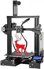 Imprimante 3D Creality Ender 3, Imprimante 3D en kit à Cadre entièrement métallique avec Grande Taille d'i
