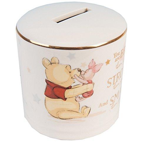 Disney Magical Beginnings DI406 Spardose aus Keramik, Winnie Puuh