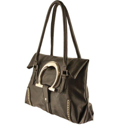 Silver Fever , Damen Tote-Tasche schwarz