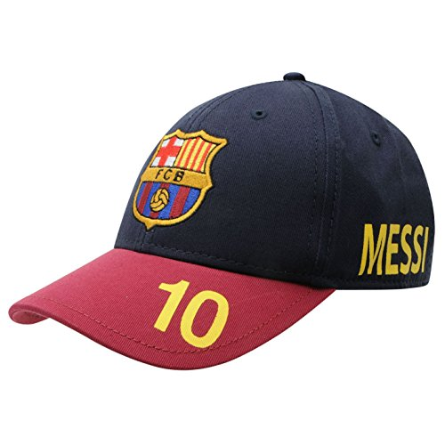 00316141e83e1 Official FC Barcelona Baseball Junior Cap Lionel Messi 10