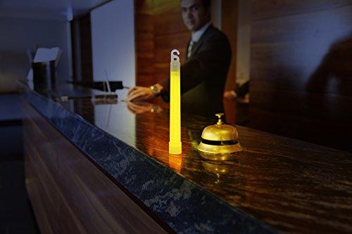 Imagen 6 de Cyalume CM-4MZB-7TBR - Barras de luz amarillo SnapLight Glow Sticks 15 cm, 6 Inch Lightstick super brillante con duración de 12 horas (Caja de 10)