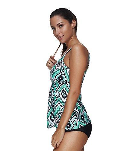 BOZEVON Donna Moda Estate Bikini Beachwear Casuale Abito da Bagno ...