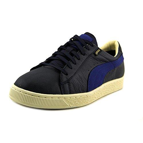 Puma Basket GTX Cuir Baskets peacoat-mazarine blue