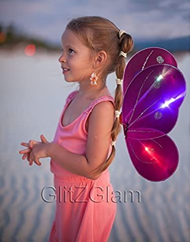 Fairy Wing / Butterfly Wing Costume for Girls - Glow
