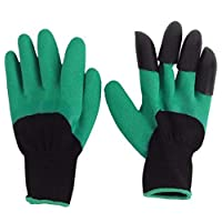Garden Genie Gloves, Right Hand Claws Gardening Gloves, Gardening Tools Safe for Rose Pruning