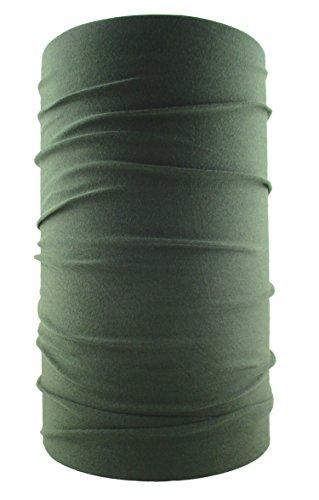 HeadLOOP Multifunktionstuch Schal Halstuch Kopftuch Microfaser (Oliv) (Sport Jacke Leinen)