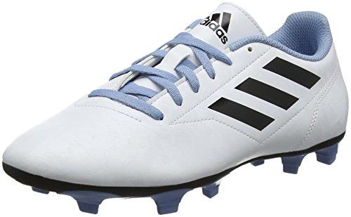 adidas Conquisto II Fg, Scarpe da Calcio Uomo, Bianco Ftwwht/Cblack/Ashblu, 46 EU