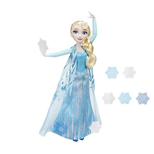 Disney Frozen - Muñeca Elsa Copos mágicos (Hasbro B9204EU4)