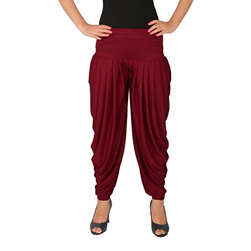 Culture the Dignity Women\'s Patiala Bottoms(C_SP_DH_M _Red_Free Size)