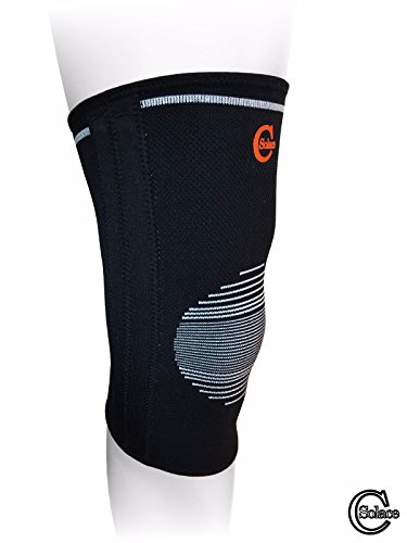 Solace-Care-Elastic-Knee-Stabiliser-Brace-Compression-Sleeves-Wrap-Knee-Support-For-Arthritis-Bursitis-Tendonitis-Meniscus-Tear-For-Men-Women-Lateral-Steel-Stays-for-Extra-Support-Stability