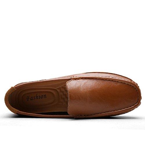 Herren Freizeitschuhe Atmungsaktiv Park Zuhause Gemütlich Lässige Schuhe Brown