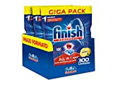 Finish All in 1 Max Pastiglie Lavastoviglie, Limone, 300 Capsule