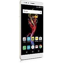 "Alcatel 7070X-2CALWE1 Handy ""POP 4-6"" 15,24 cm (6 Zoll) Full HD-Display, 16GB, 13MP Kamera, Android 6.0 metal-gold"